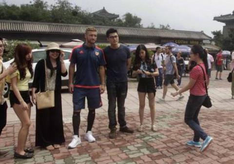 El Valencia CF ha viajado a China este verano.