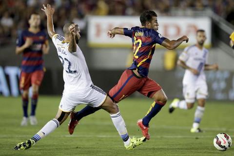 El Barcelona realiza una gira por Estados Unidos.