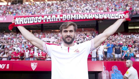 Fernando Llorente, uno de los fichajes del Sevilla.