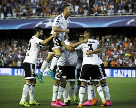 El Valencia CF jugará la Champions tras superar una previa.