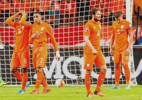 Holanda no fallaba a una Eurocopa desde 1984.
